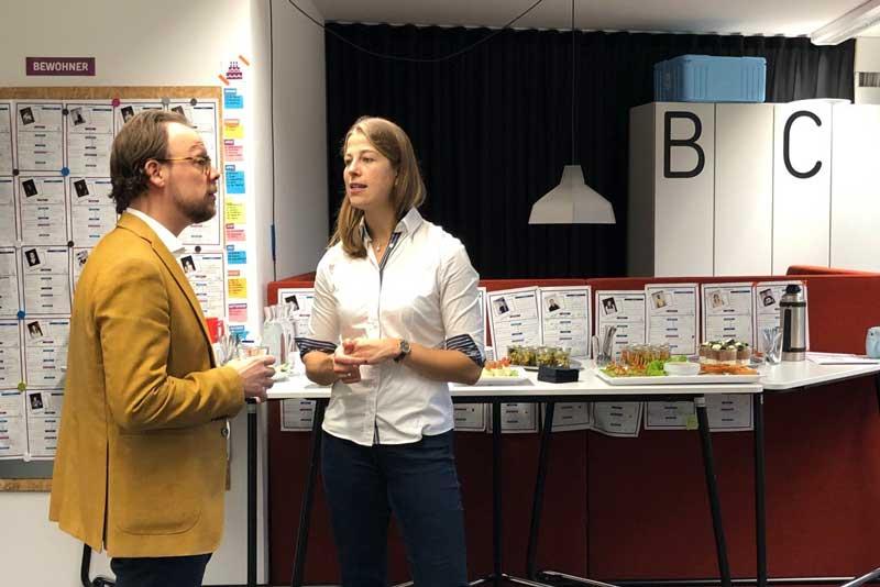 Start-ins aus ganz Deutschland nutzten neues Hub-Format zum Austausch