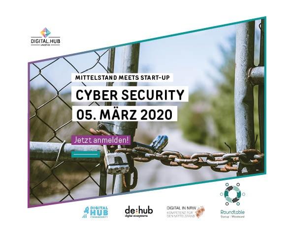 Mittelstand meets Start-up: Cyber Security