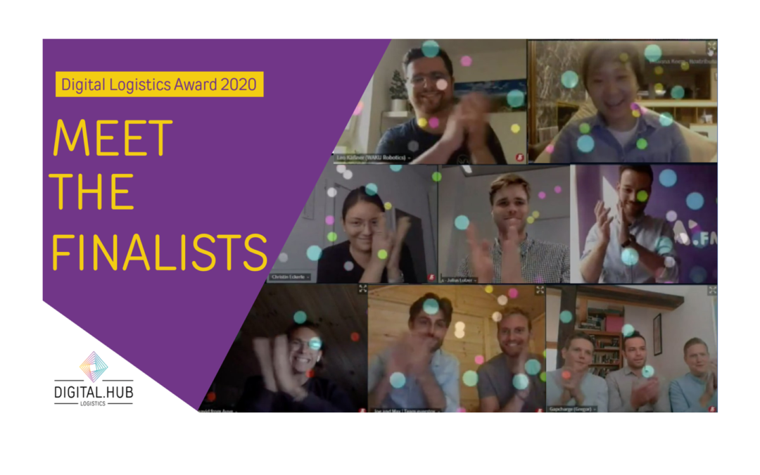 #1 Meet the Finalists of the Digital Logistics Award 2020