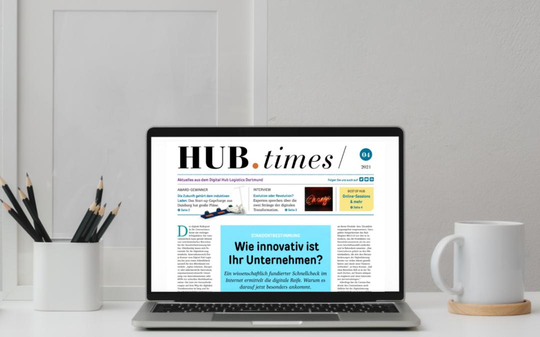Die neue Ausgabe der HUB.Times ist online!
