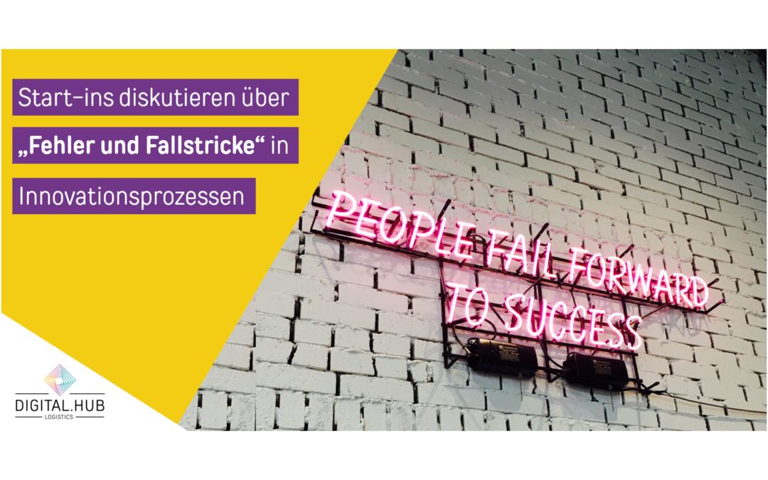 """Start-ins diskutieren über  """"Fehler und Fallstricke"""" in  Innovationsprozessen"""
